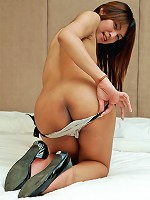 Uber cute ladyboy gets down dirty